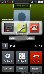 call for android 2 way call recorder free free android app android freeware