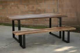 rustic metal and wood dining table kitchen metal kitchen table legs rustic with for light wood dining