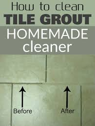 Grout Cleaner Recipe How To Clean Tile Grout Homemade Cleaner Cleaningdiy Net