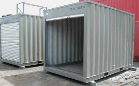 modified shipping containers with heat lighting a c transport