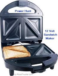 Round Sandwich Toaster High Performance 12 Volt Sandwich Maker At Roadtrucker