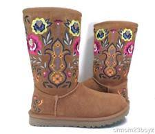 ugg womens julietta boots black ugg australia floral suede boots for ebay