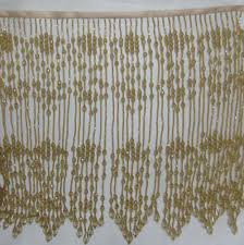 Beaded Fringe For Curtains Beads Fringe Beaded Fringe Eeagal Trimming