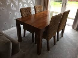 wooden dining room table and chairs dining table mango wood dining table and chairs table ideas uk
