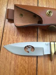 buck kitchen knives knife buck 192 vanguard knife with white tail deer profile cutout