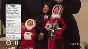 byers choice handcrafted caroling family page 1 qvc