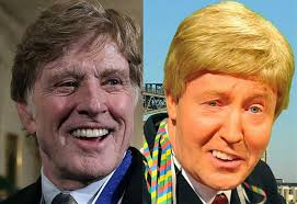 does robert redford wear a hair piece movie star robert redford looks a little too good for his age at