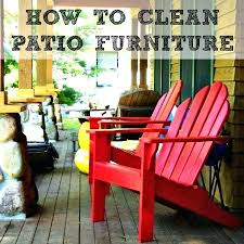 How To Clean Patio Chairs Idea Patio Furniture Cleaner And Image Titled Clean Patio