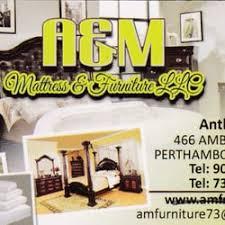 a u0026m mattress and furniture furniture stores 466 amboy ave