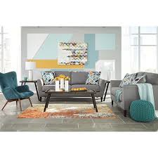 rent benchcraft pelsor gray sofa loveseat and chair