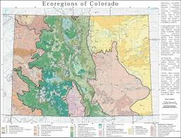 Blm Maps Colorado by Ecological Regions Of Colorado More Maps On The Web
