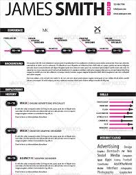 Free Indesign Resume Template 35 Infographic Resume Templates U2013 Free Sample Example Format