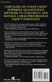 quantitative equity portfolio management an active approach to
