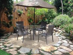 Granite Patio Tables Crushed Granite Patio Amazing As Cheap Patio Furniture On Patio