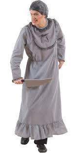 psycho großmutter halloween herrenkostüm grau großmutter kostüm