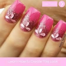 simple glitter nail art u2013 mitty nail art tools u0026 brushes