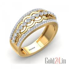 gold rings women images Gold ring for women juelbox women gold ring with diamonds 239565 jpg