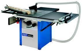 the standard varieties of table saws