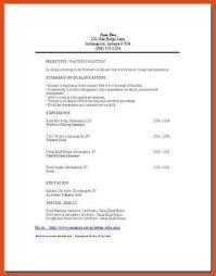 Server Resume Template Free Sample Resume For Server Waitress Free Server Resume Example