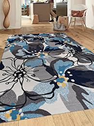 Modern Floral Area Rugs Rugshop Modern Floral Area Rug 7 6 X 9 5