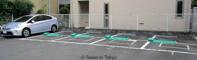 how to park your car in a pay by the hour parking lot texan in tokyo