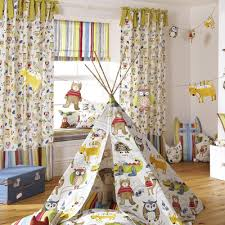 Jungle Curtains For Nursery Nursery Curtain Fabric Uk Gopelling Net