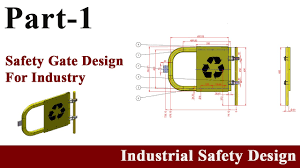 safety door design as per osha for industrial safety using