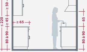 hauteur d un ilot de cuisine hauteur plan travail cuisine lovely hauteur plan de travail salle