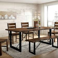 wrought iron dining room sets metal dining table set rustic dining