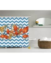 Shower Curtains With Fish Theme Here U0027s A Great Deal On Nautical Coastal Theme Sea Tropical Fish
