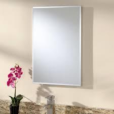 White Recessed Medicine Cabinet With Mirror Stunning White Recessed Medicine Cabinet All Home Decorations