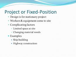 warehouse layout factors dr ron tibben lembke layout types project or fixed position layout
