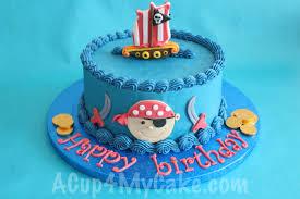 pirate cake acup4mycake