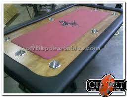 pool table top cover convert your pool table offtilt poker tables