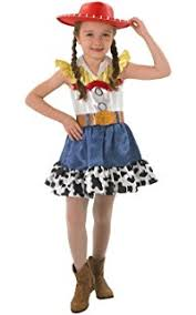 Jessie Woody Halloween Costumes Amazon Jesse Deluxe Child Size Child 4 6x Clothing