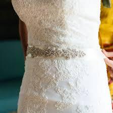 bridal sash silver bridal sash bridal