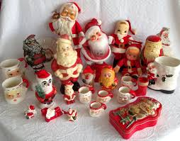vintage christmas decorations vintage christmas santa claus