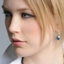 sheena pierced earrings swarovski earrings square swarovski 960012 rhodium galet
