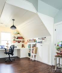 attic renovation before and after the full room tour unskinny boppy