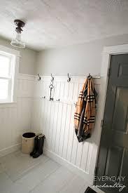 diy laundry closet to mudroom makeover