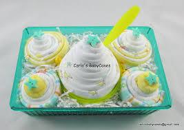 cupcake gift baskets cupcake gift set new baby gift basket baby shower