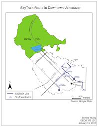Vancouver Skytrain Map Christa Yeung Christa Yeung Eportfolio