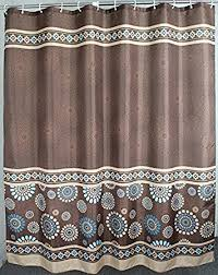 amazon com welwo shower curtains sets paisley stall shower