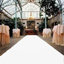 white aisle runner aliexpress buy white carpet wedding aisle runner 1 2 meter