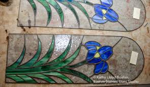 Stained Glass Kitchen Cabinets Boehm Stained Glass Blog Stained Glass Kitchen Cabinet Panel Made