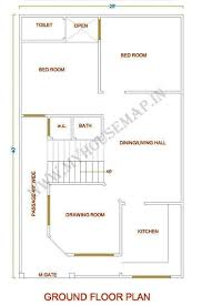 Small House Floor Plan Front Elevation Design House Map Building Small House Plan Map