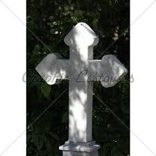 cross grave ornament gl stock images