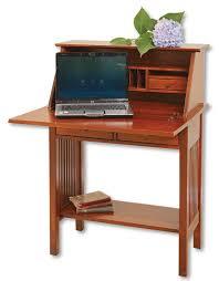 Mission Computer Desk Mission Writing Desk Ohio Hardwood Furniture