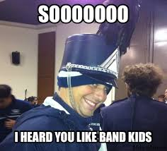 Band Kid Meme - creepy band kid meme it s happening joey will be famous