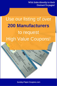 best 20 printable manufacturer coupons ideas on pinterest free